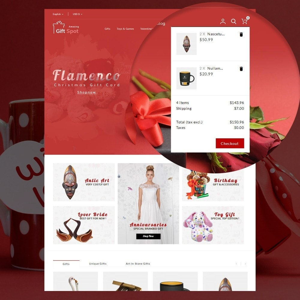 theme - Gifts, Flowers & Celebrations - Gift Spot - 9