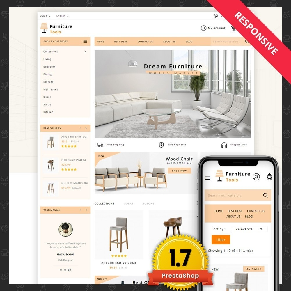 theme - Huis & Buitenleven - Furniture Tool - 1