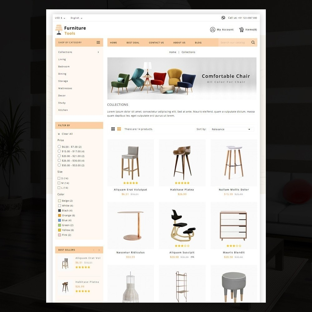 theme - Дом и сад - Furniture Tool - 3