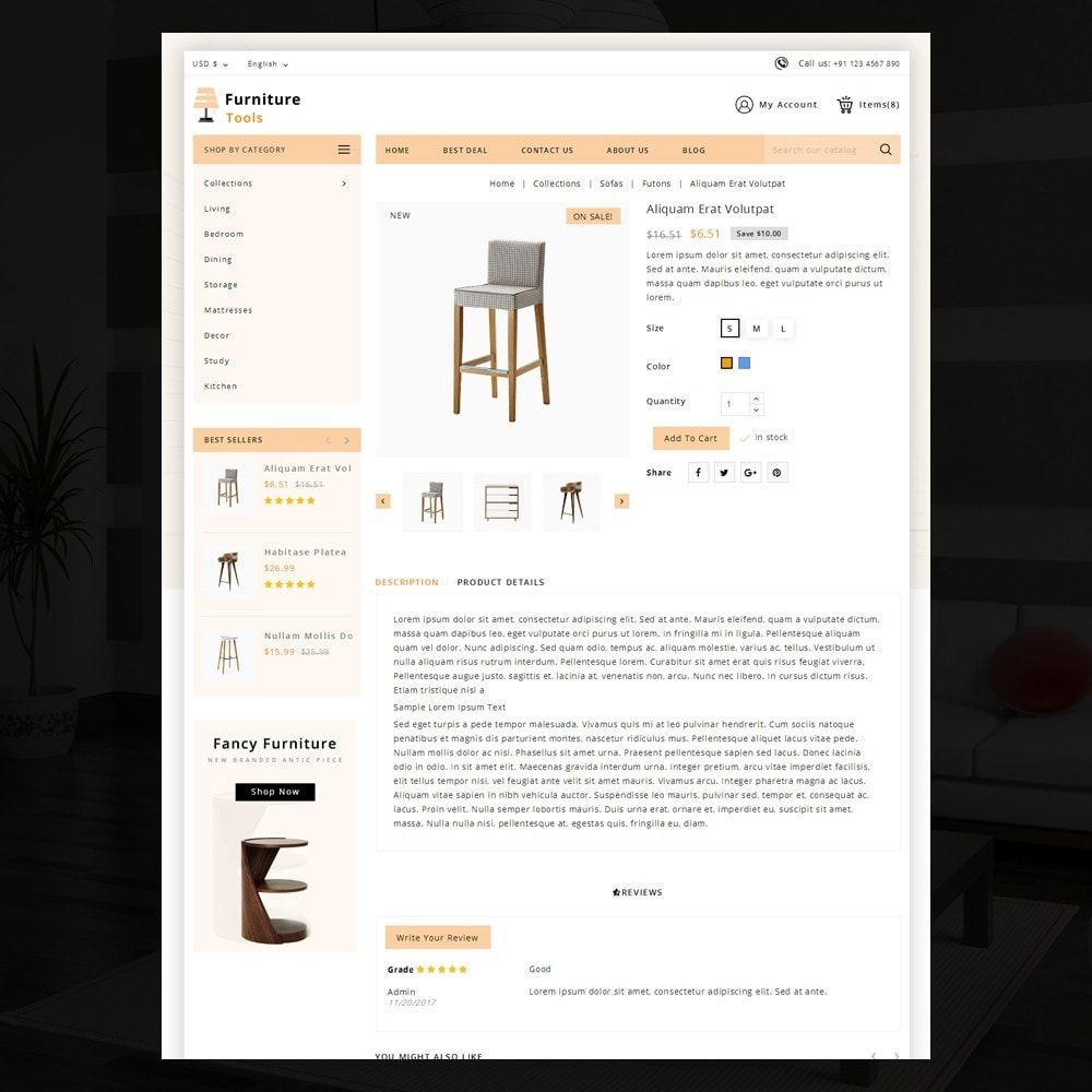 theme - Дом и сад - Furniture Tool - 4