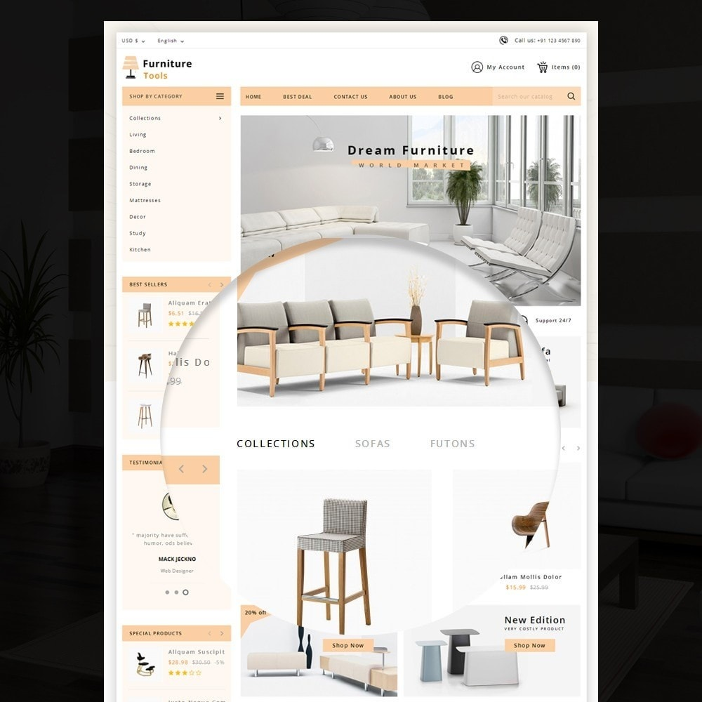 theme - Дом и сад - Furniture Tool - 7