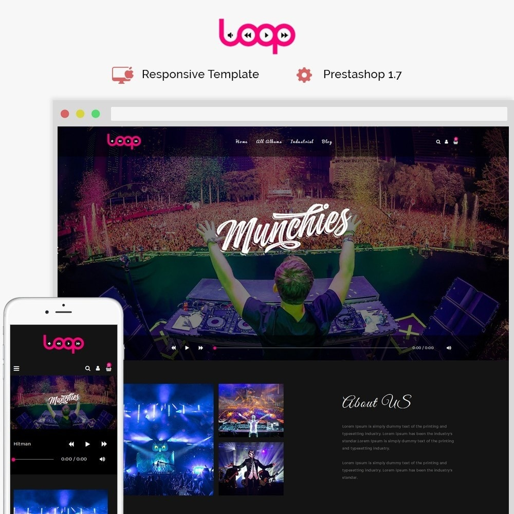 theme - Sports, Activities & Travel - Loop Music Store - 1