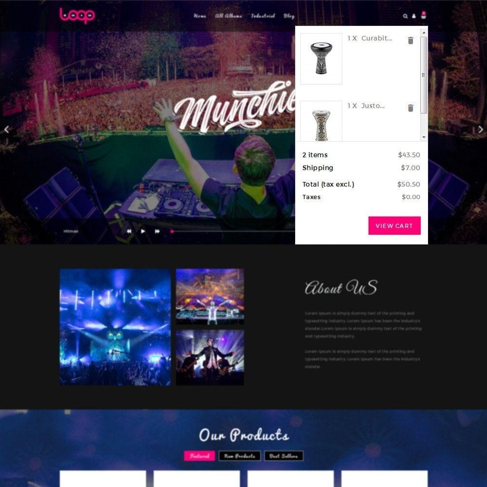 theme - Sports, Activities & Travel - Loop Music Store - 6