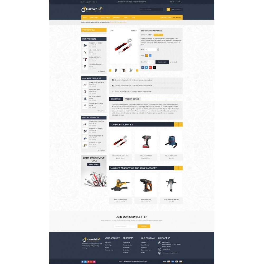 theme - Coches y Motos - Hartwhile - Tools Store - 5