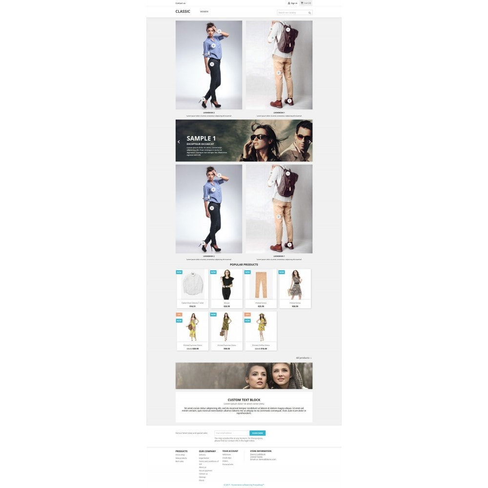 module - Visual dos produtos - Lookbook - Homepage Lookbook For Prestashop 1.6 & 1.7 - 3