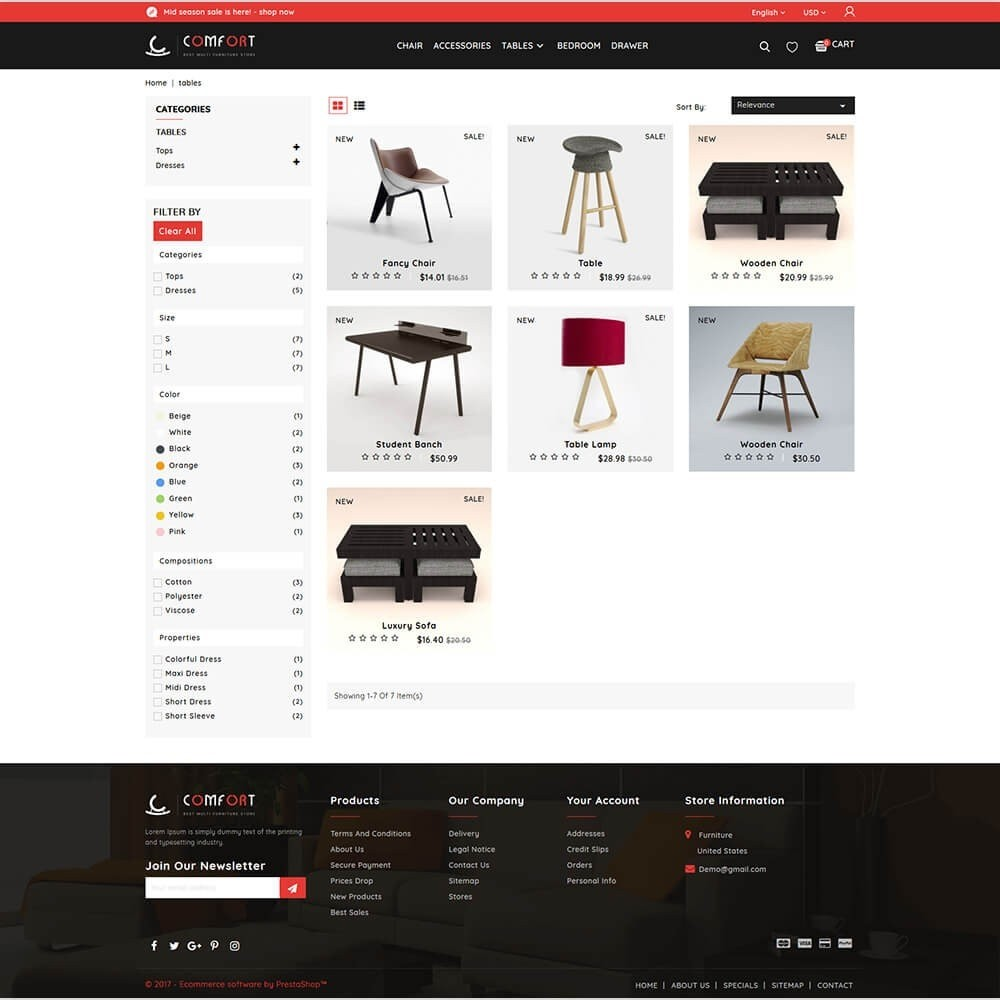 theme - Huis & Buitenleven - Comfort - Best Multi Furniture Store - 3