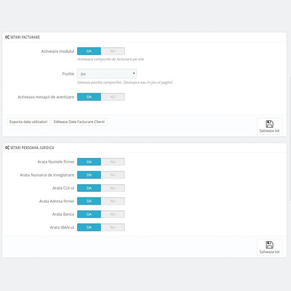 module - Buchhaltung & Rechnung - Facturare - Persoana Fizica sau Juridica - 4
