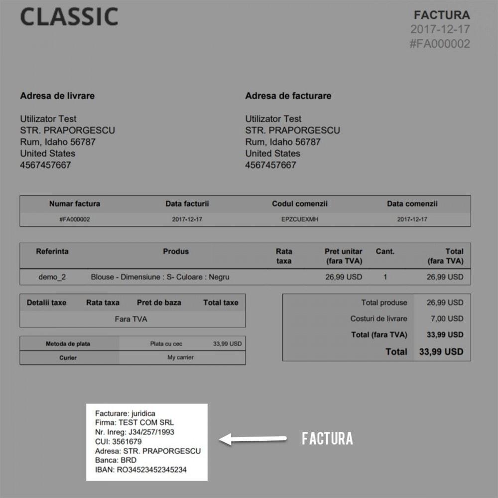 module - Boekhouding en fakturatie - Facturare - Persoana Fizica sau Juridica - 8