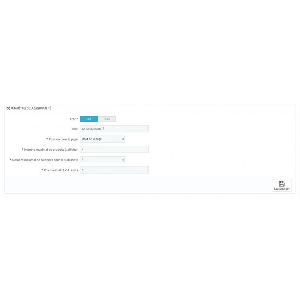 module - Personnalisation de Page - Mise en avant de produits - 2