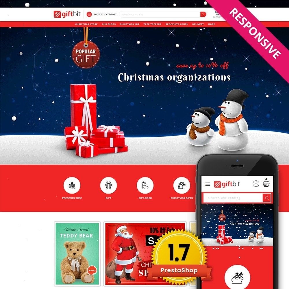 theme - Gifts, Flowers & Celebrations - Giftbit Mega Store - 1