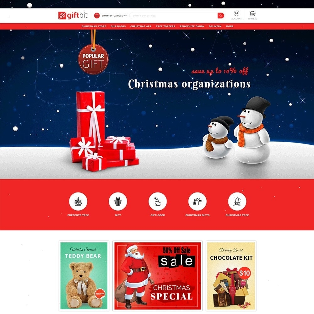 theme - Gifts, Flowers & Celebrations - Giftbit Mega Store - 2