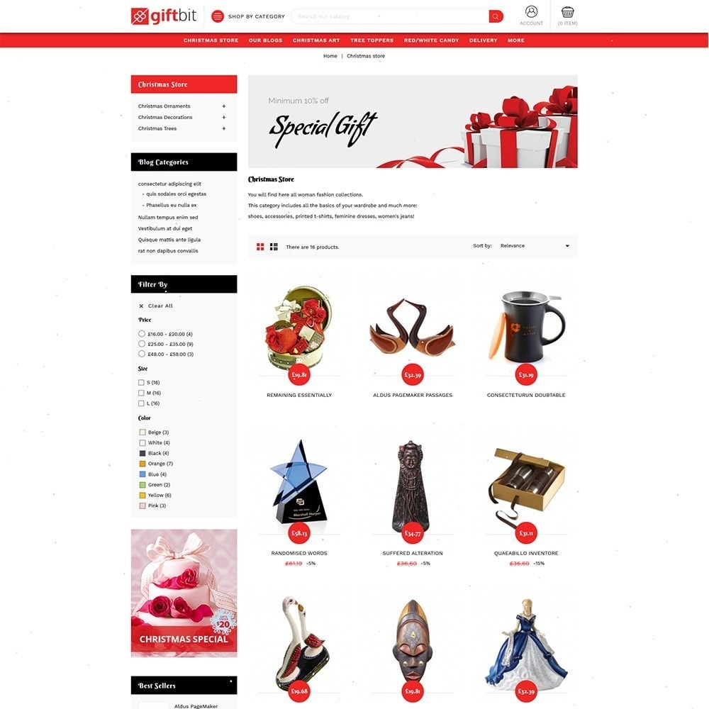 theme - Gifts, Flowers & Celebrations - Giftbit Mega Store - 4