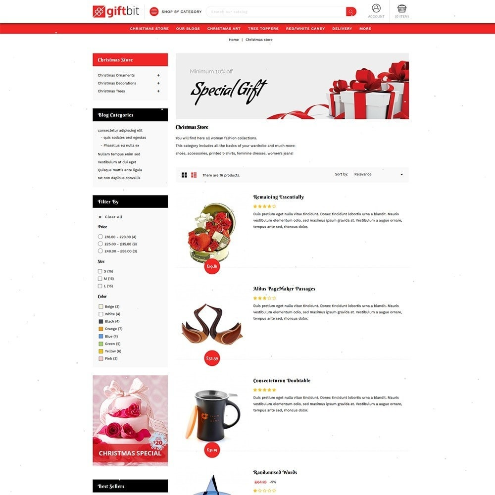 theme - Gifts, Flowers & Celebrations - Giftbit Mega Store - 6