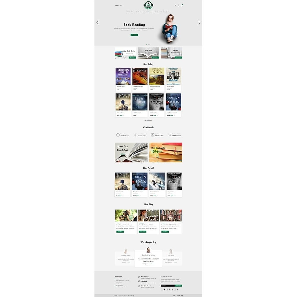 theme - Art & Culture - BookLovers Store - 2