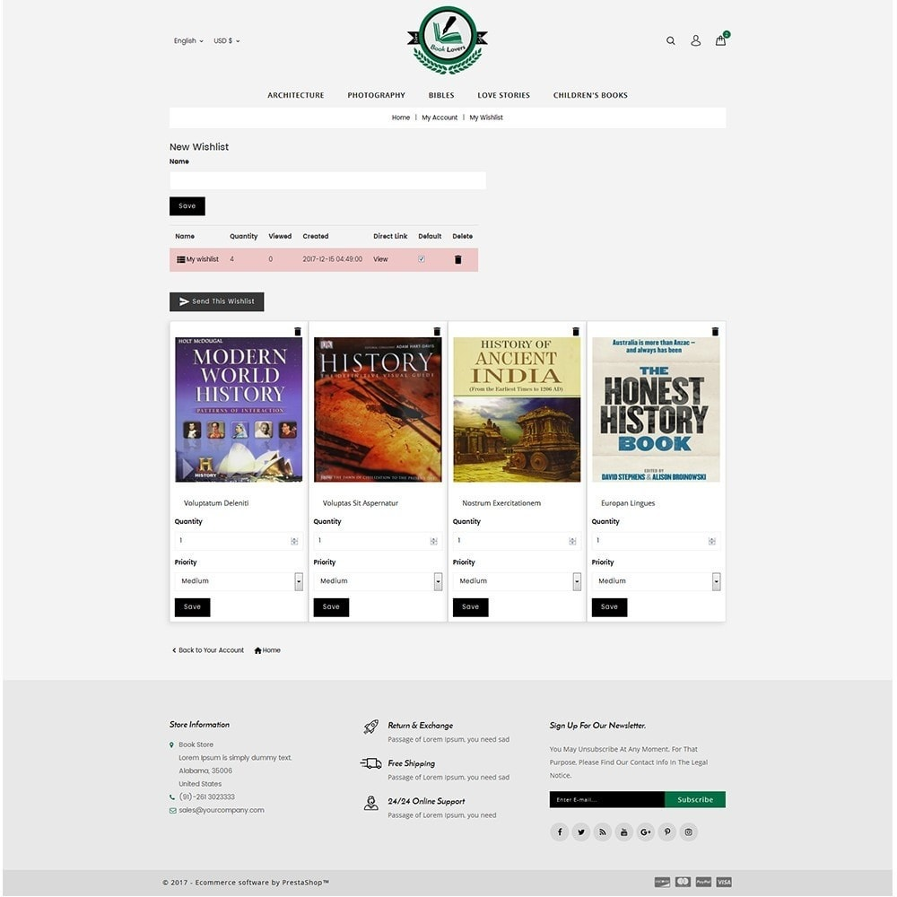 theme - Art & Culture - BookLovers Store - 10