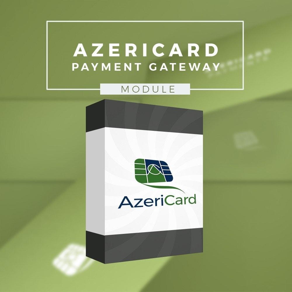 module - Pagamento con Carta di Credito o Wallet - AzeriCard Payment Gateway | AzeriCard ONLINE ÖDƏMƏ - 1