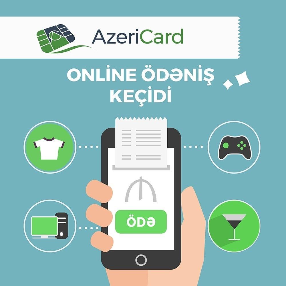 module - Pagamento con Carta di Credito o Wallet - AzeriCard Payment Gateway | AzeriCard ONLINE ÖDƏMƏ - 2