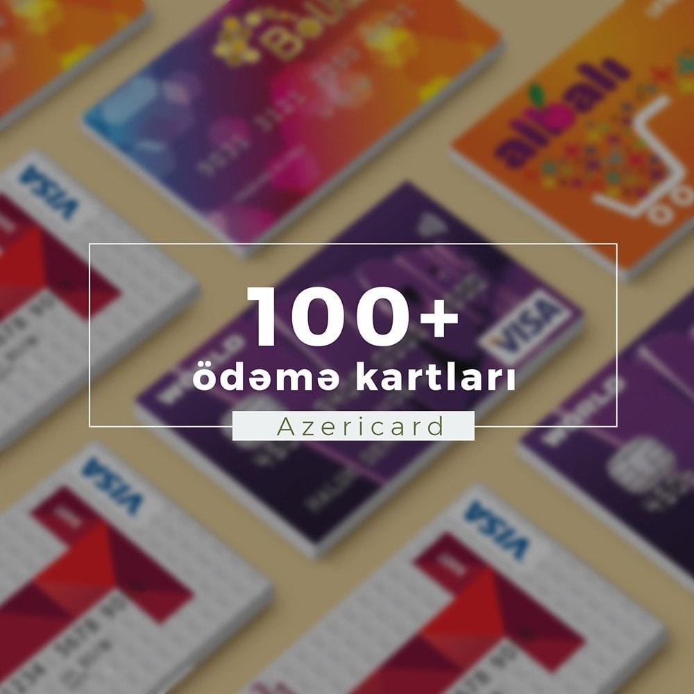 module - Pagamento con Carta di Credito o Wallet - AzeriCard Payment Gateway | AzeriCard ONLINE ÖDƏMƏ - 3