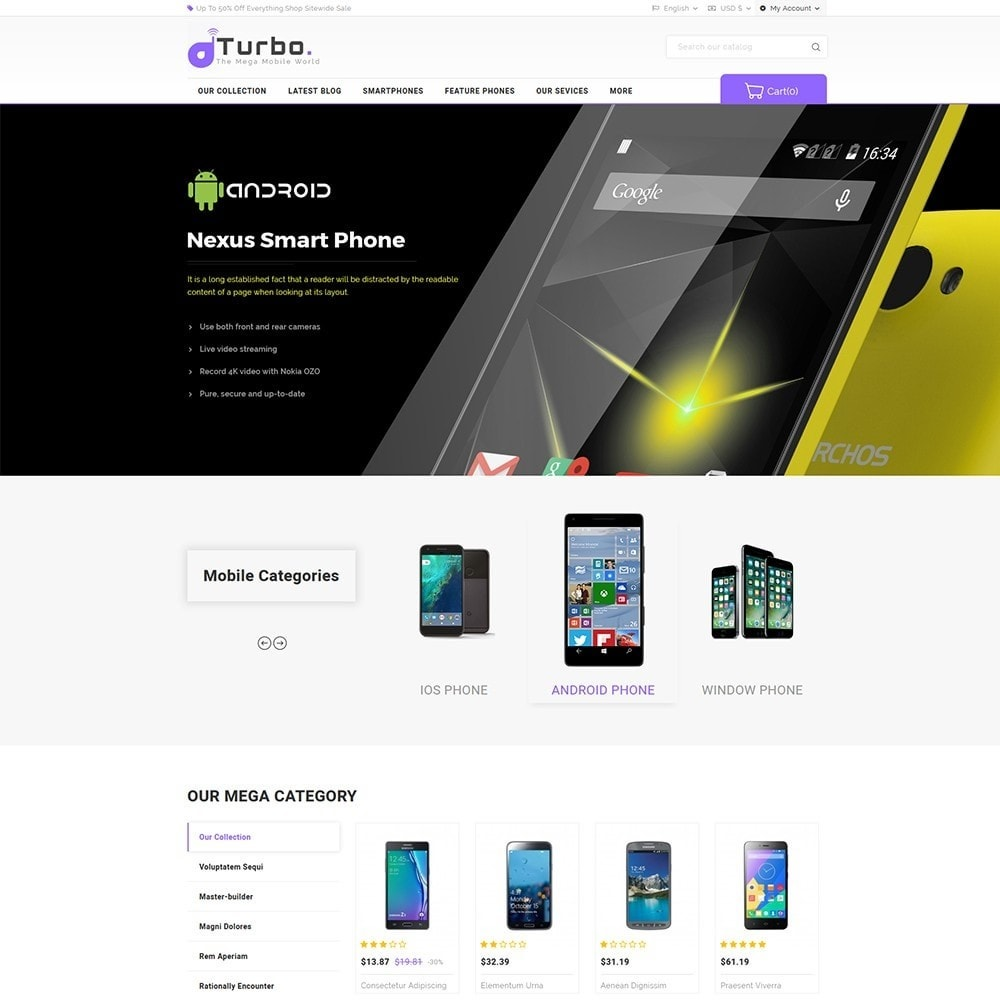 theme - Электроника и компьютеры - Turbo Mobile Store - 2