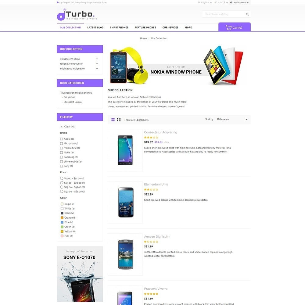 theme - Электроника и компьютеры - Turbo Mobile Store - 5