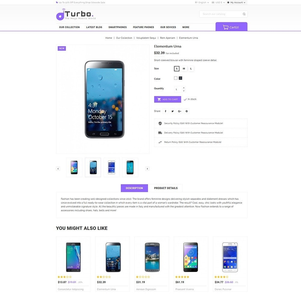 theme - Электроника и компьютеры - Turbo Mobile Store - 6