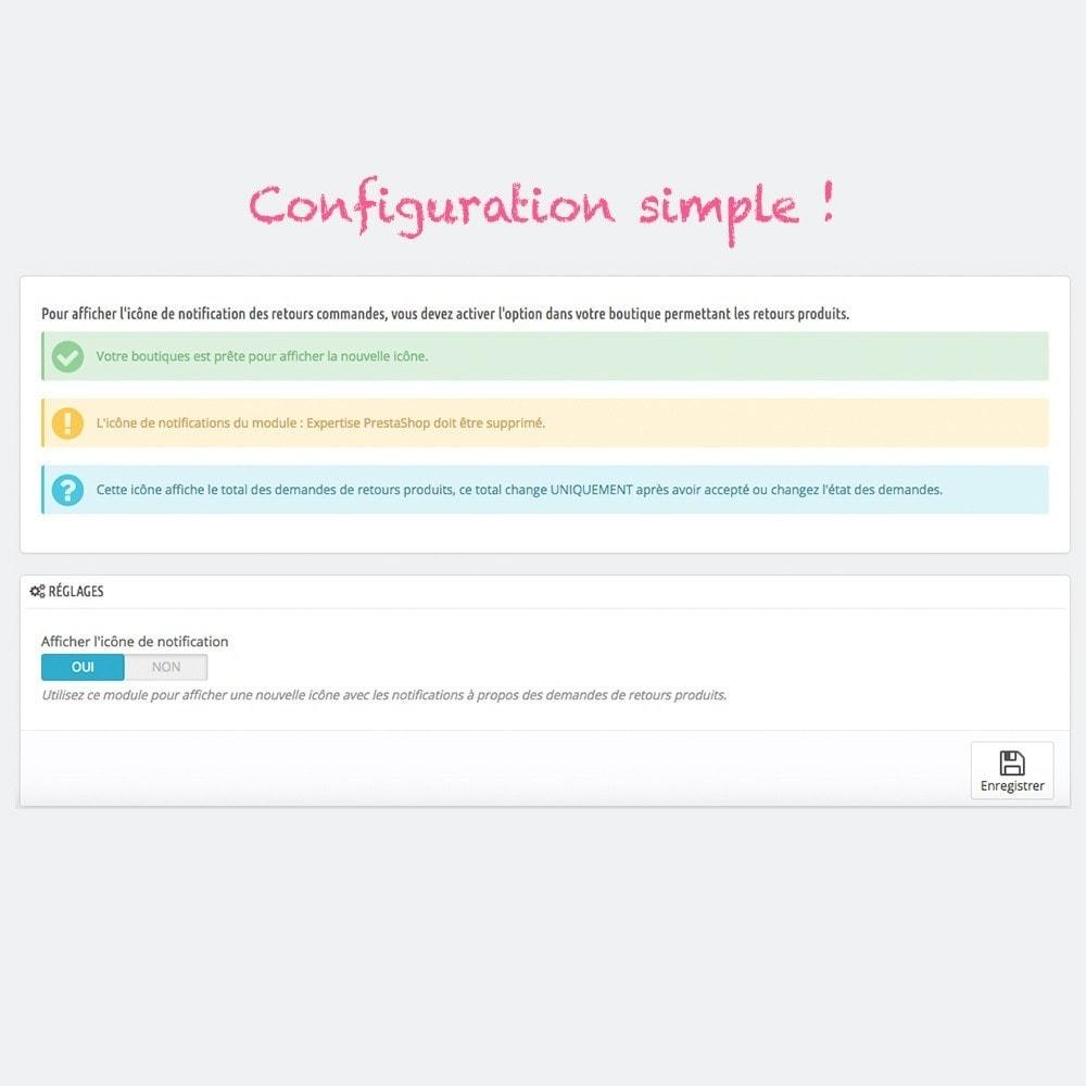 module - E-mails & Notifications - Notification visuelle des demandes de retour produit - 3