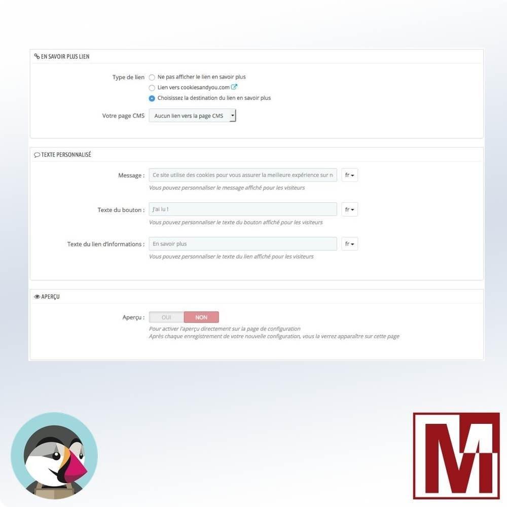 module - Législation (Loi Hamon) - Cookie Consentement simple et rapide - 4