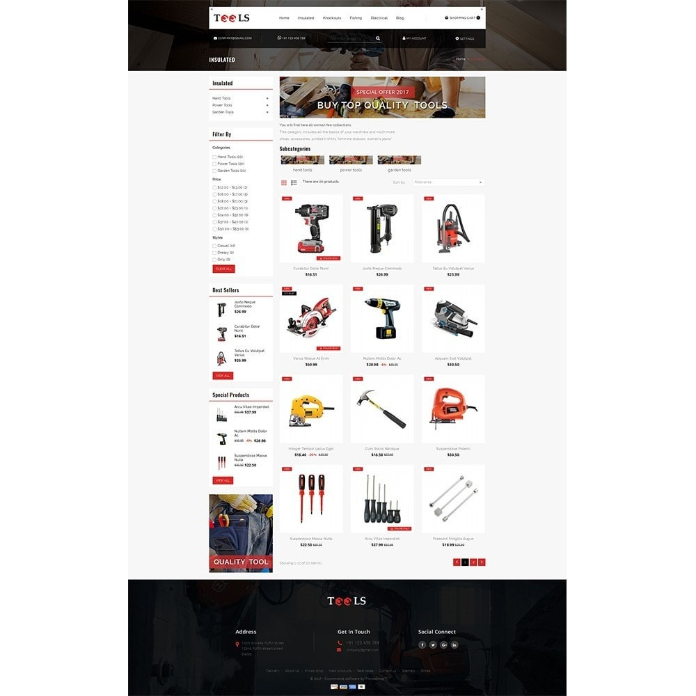 theme - Elektronica & High Tech - Tools Store - 3