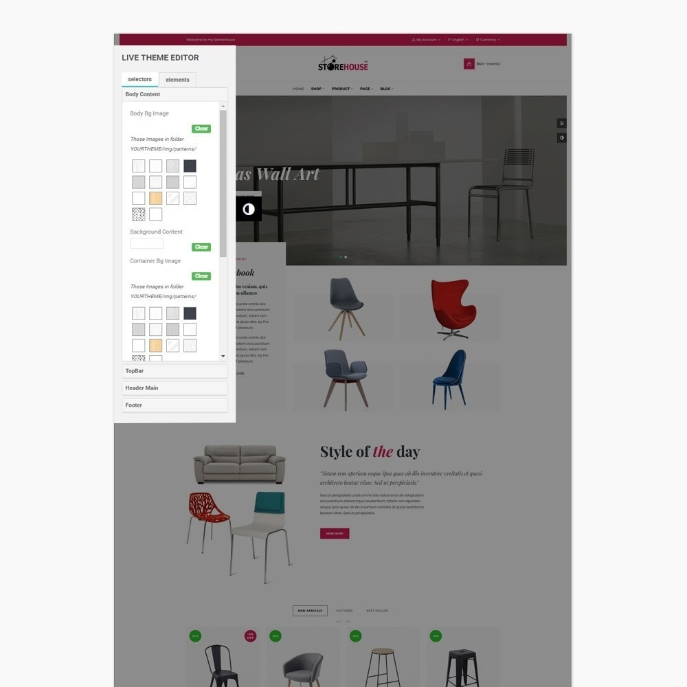 theme - Casa & Giardino - Eclectic Store - 2
