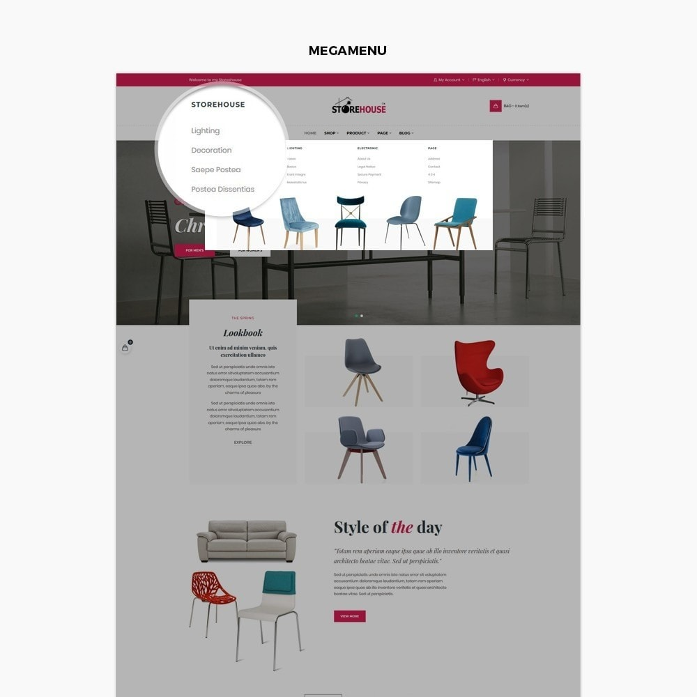 theme - Maison & Jardin - Eclectic Store - 3