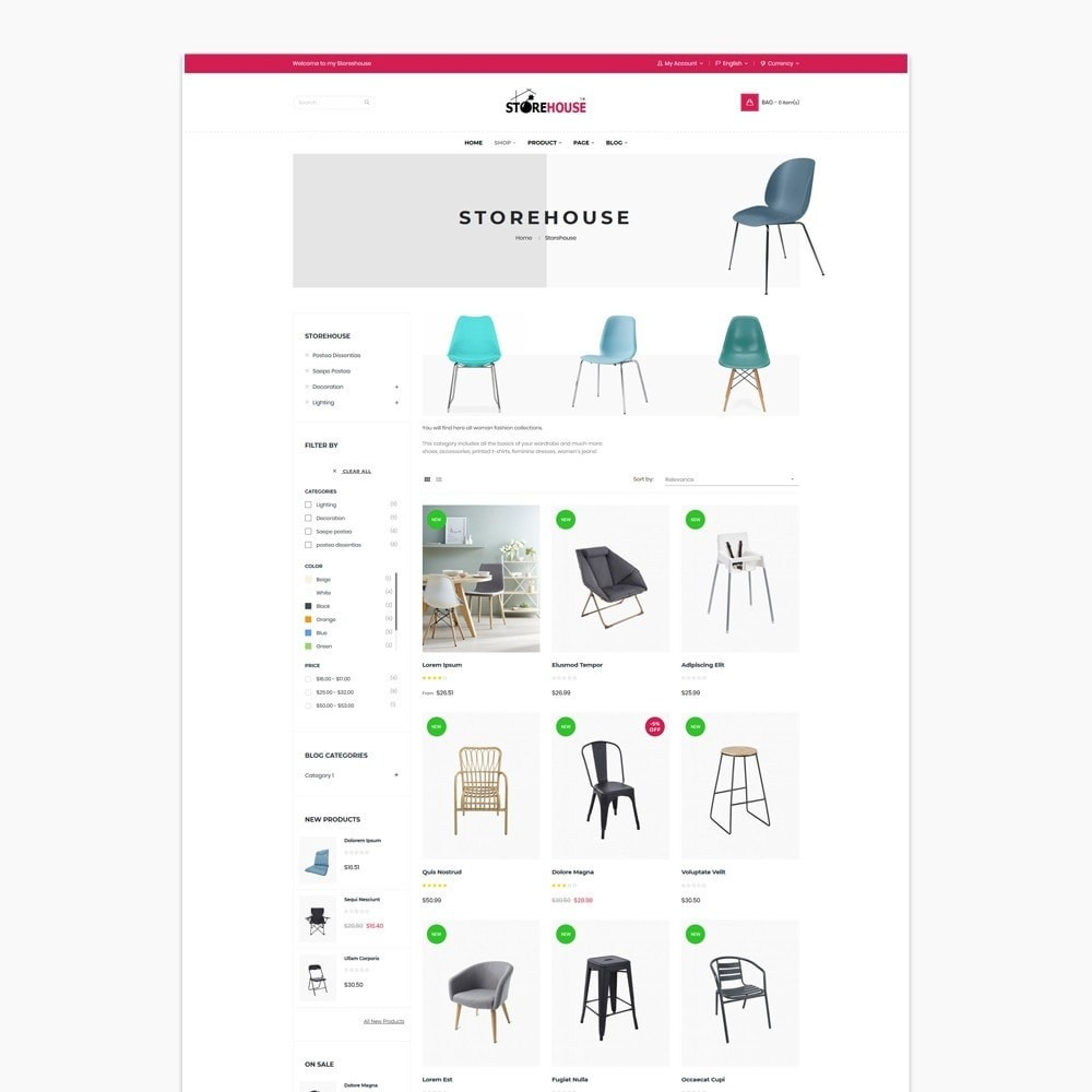 theme - Casa & Giardino - Eclectic Store - 6