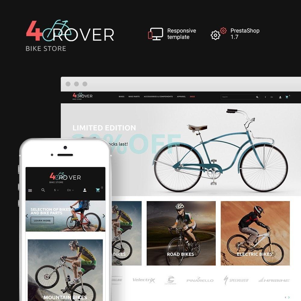 theme - Sports, Activities & Travel - 4Rover - Bike Store - 1