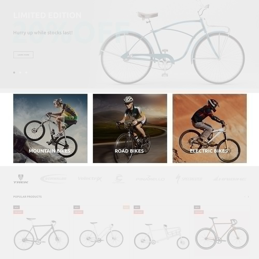 theme - Sports, Activities & Travel - 4Rover - Bike Store - 4