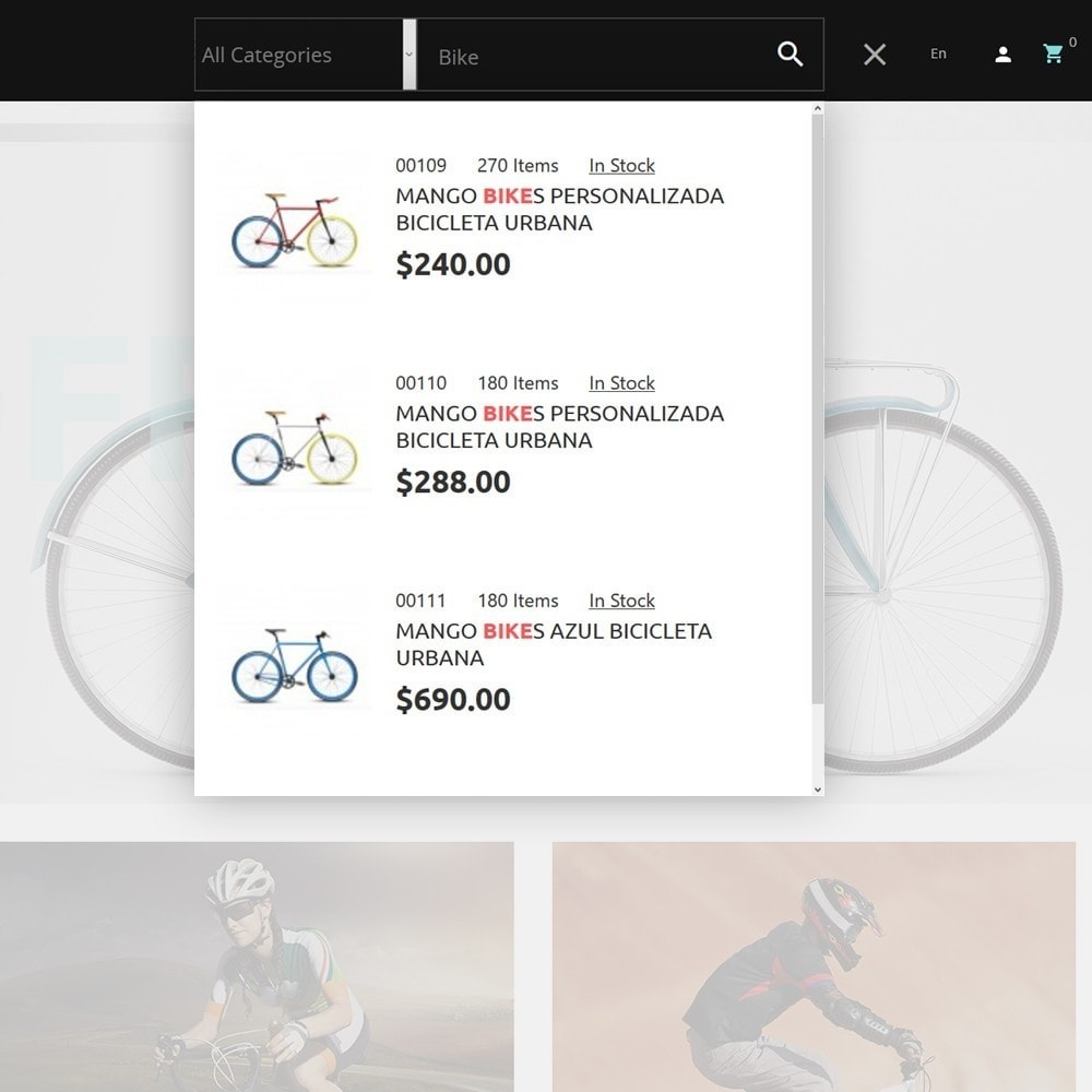 theme - Sports, Activities & Travel - 4Rover - Bike Store - 6