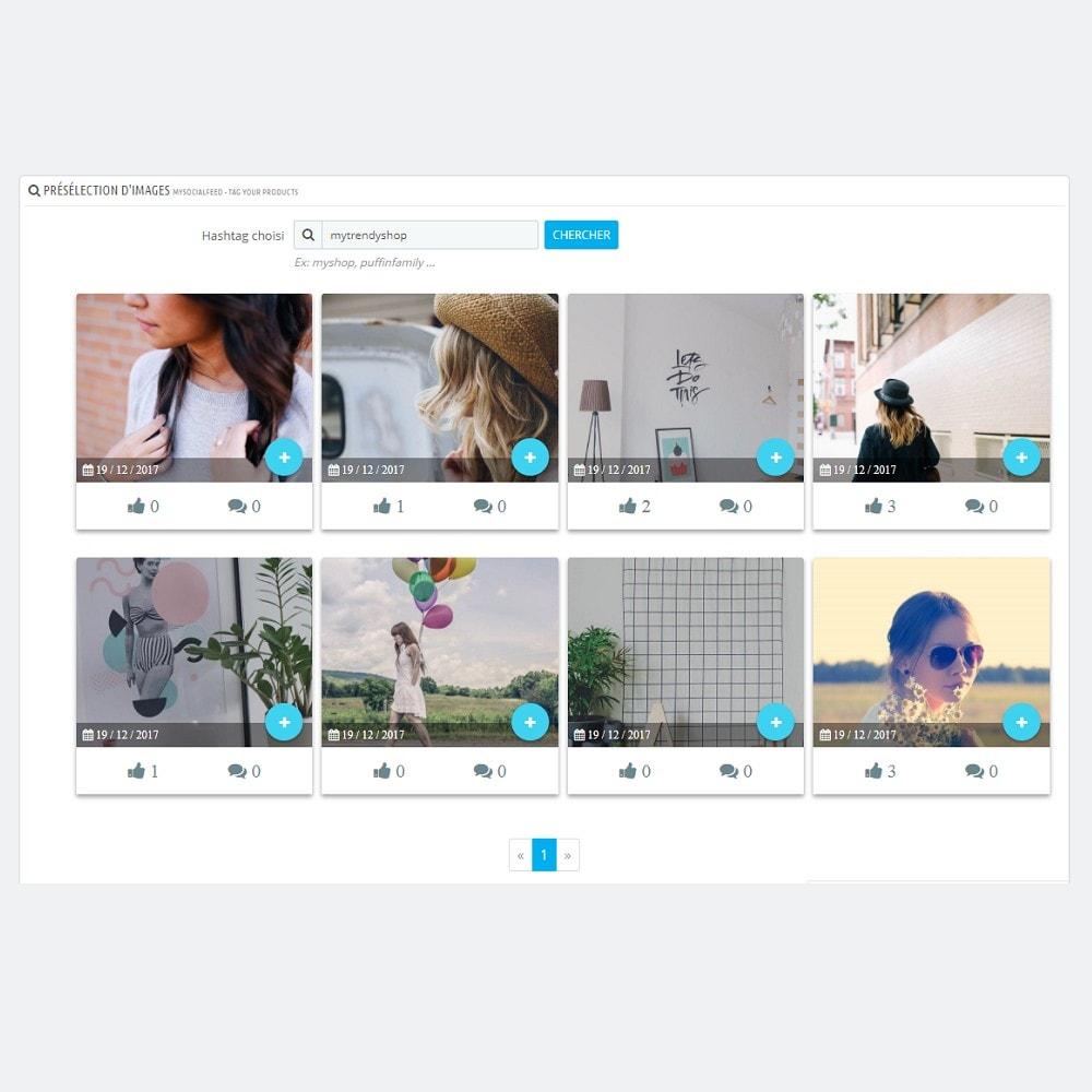 module - Produits sur Facebook & réseaux sociaux - MySocialFeed - Taguez vos produits - 6