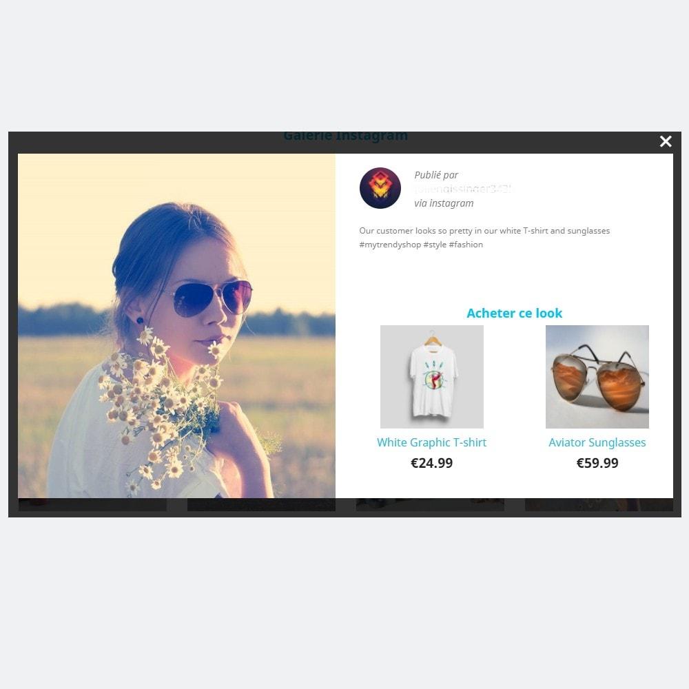 module - Produits sur Facebook & réseaux sociaux - MySocialFeed - Taguez vos produits - 4