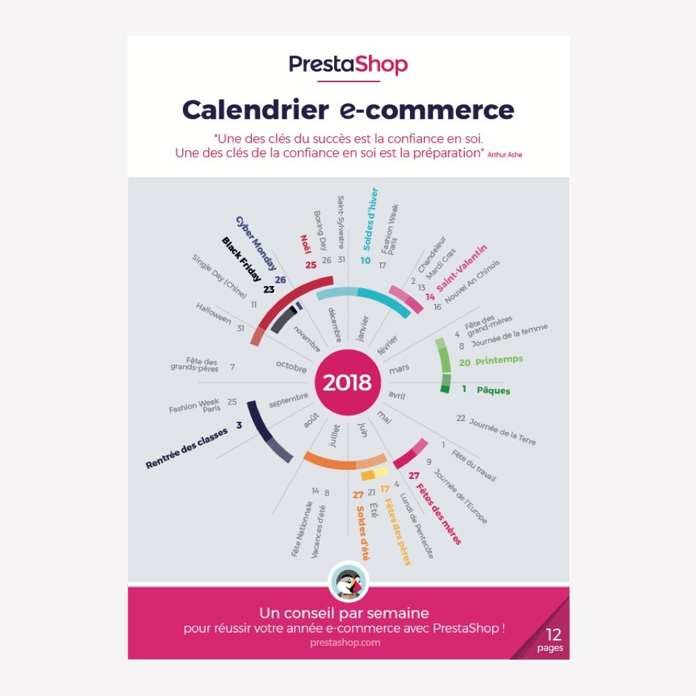 other - Calendario e-Commerce - Calendario e-Commerce Francia 2018 - 1