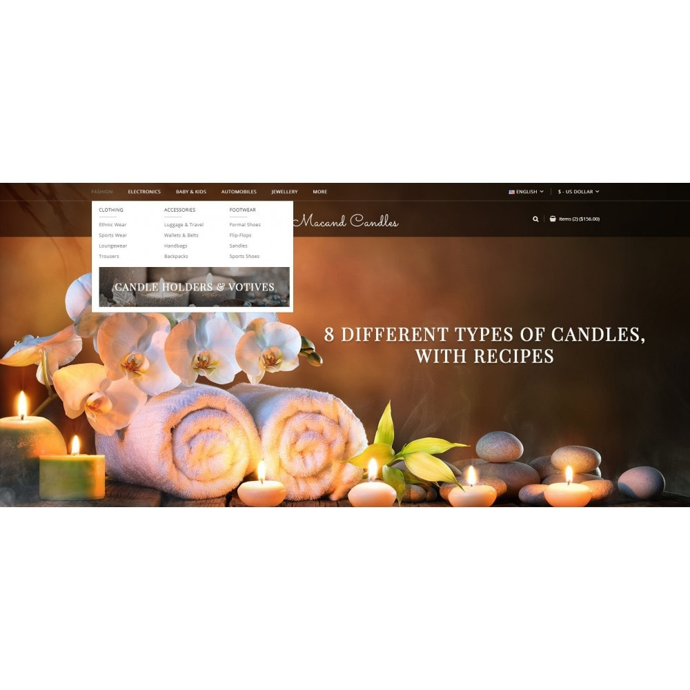 theme - Regali, Fiori & Feste - Macand Candles Store - 6