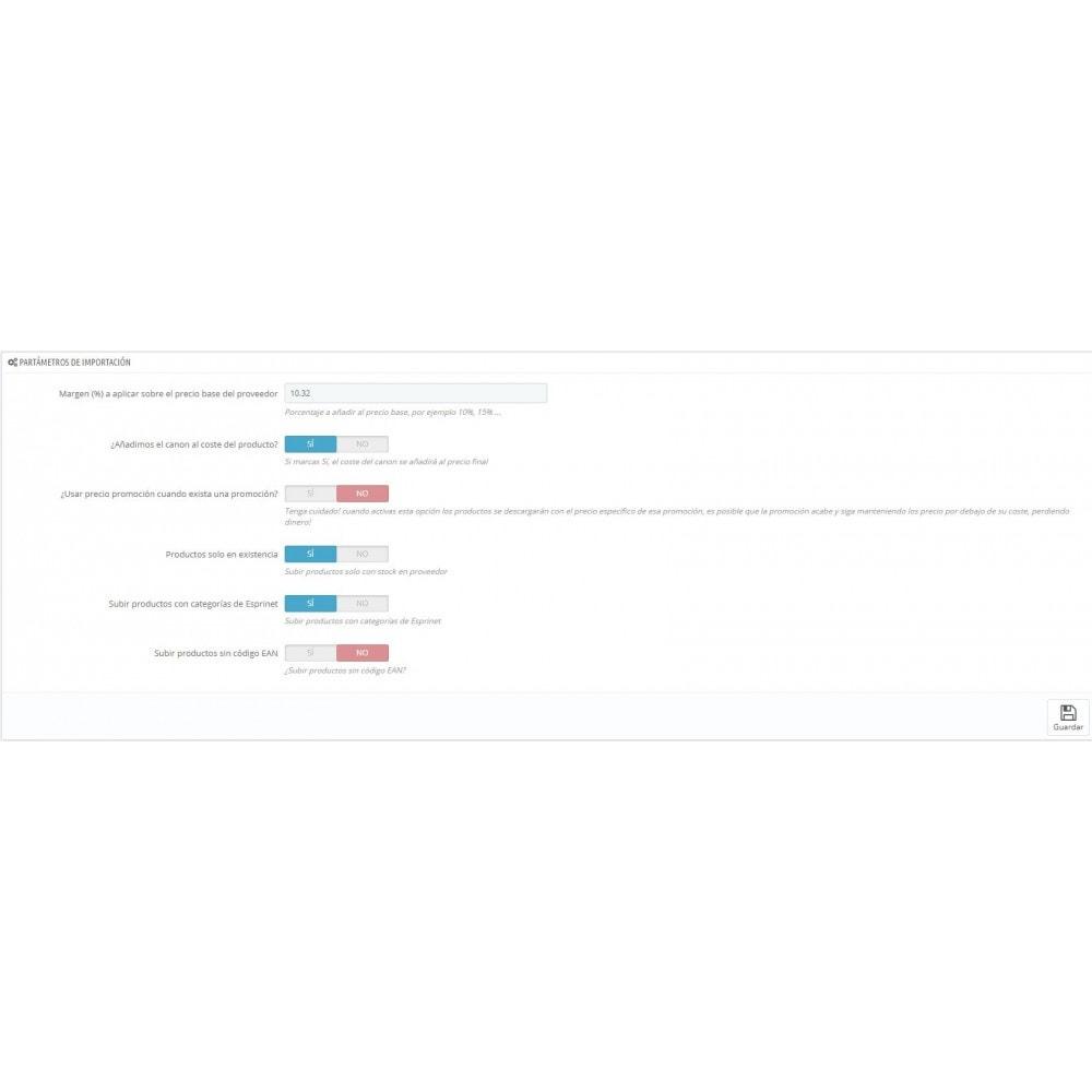 module - Importación y Exportación de datos - Importar catálogo de Esprinet - 4