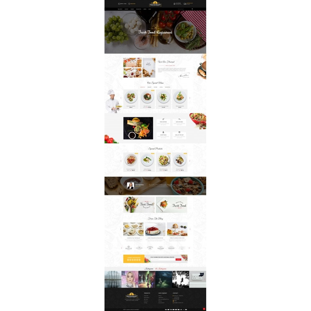theme - Alimentation & Restauration - Restaurant Food Store - 2