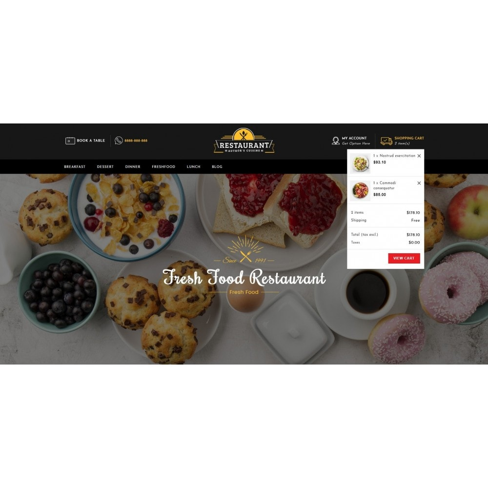 theme - Alimentation & Restauration - Restaurant Food Store - 6