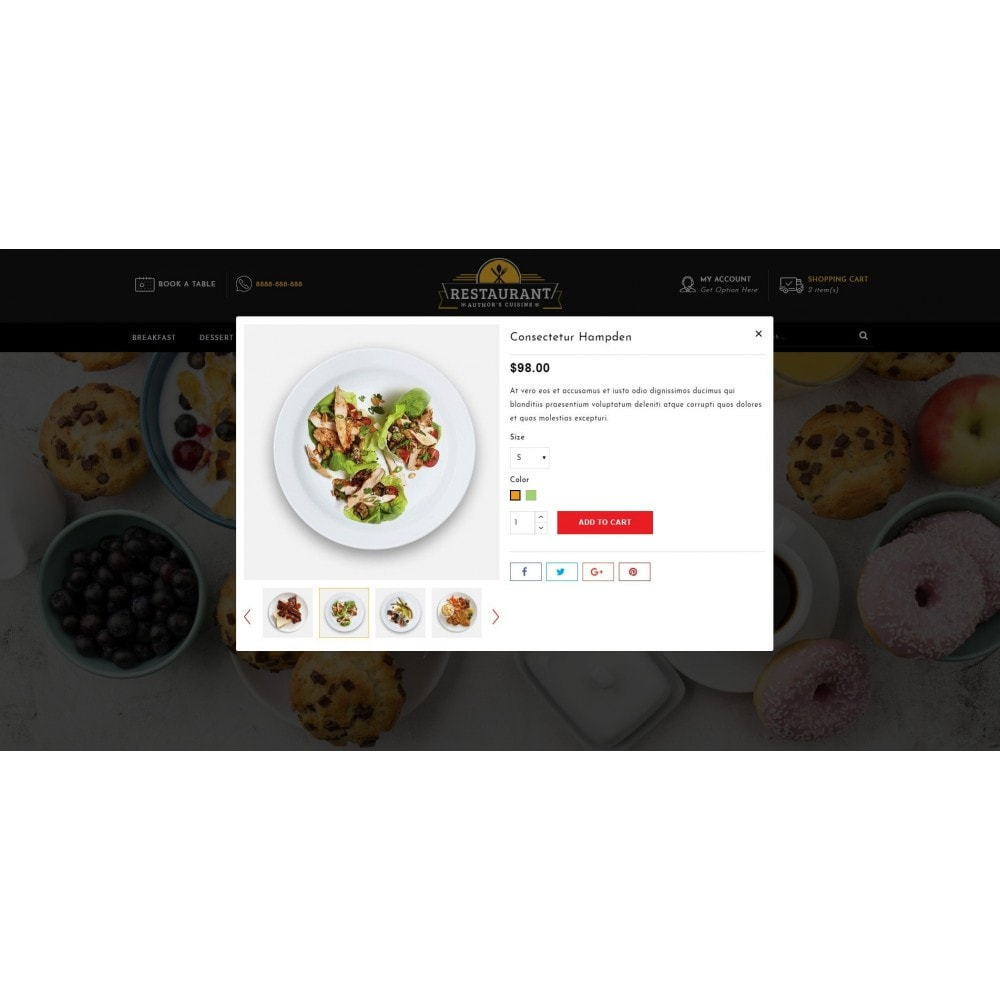 theme - Alimentation & Restauration - Restaurant Food Store - 7