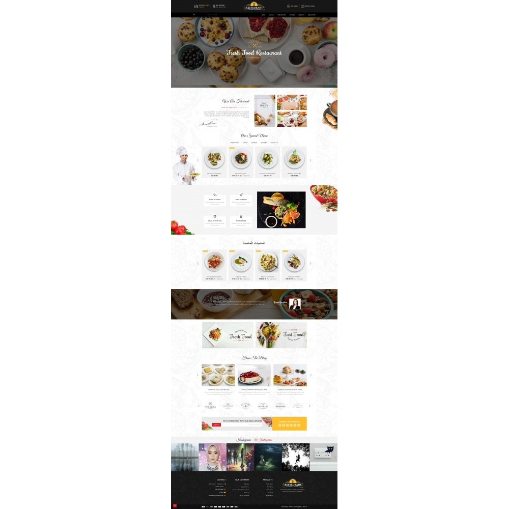 theme - Alimentation & Restauration - Restaurant Food Store - 10