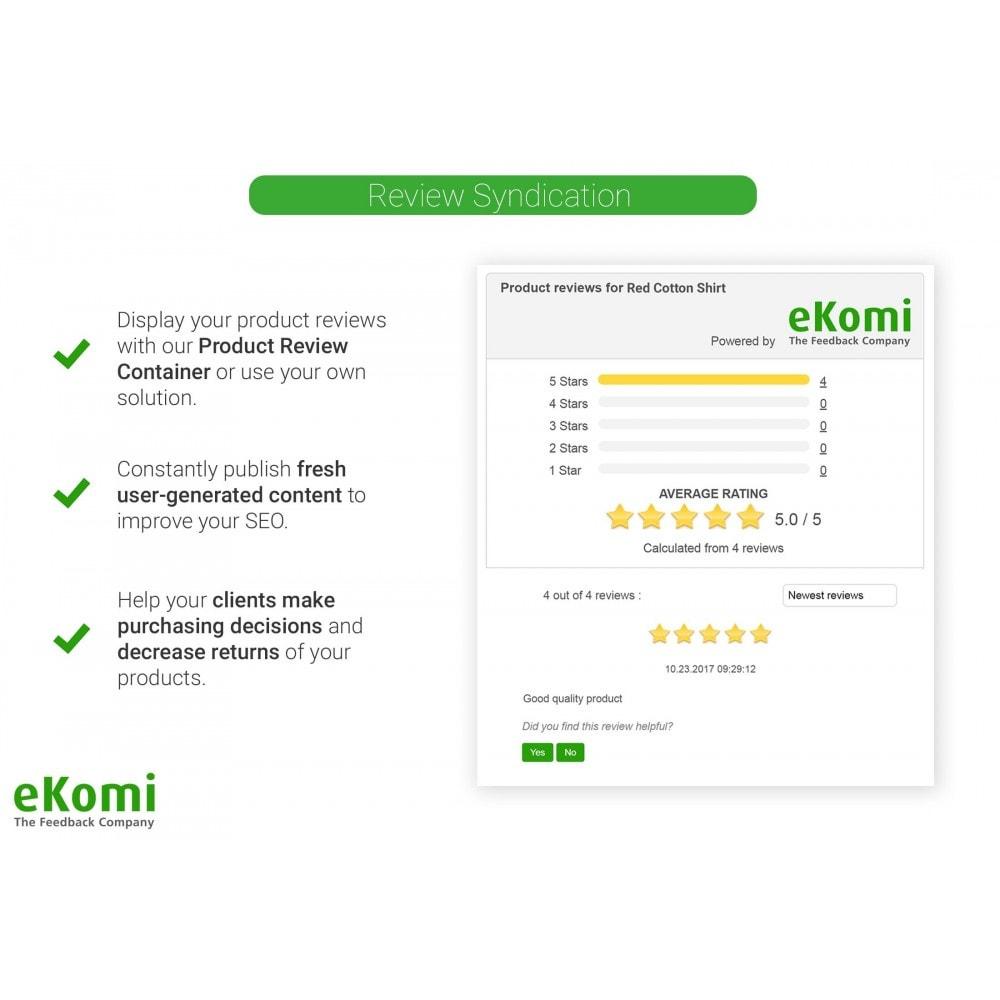 module - Opiniões de clientes - Avaliações e classificações eKomi - 4