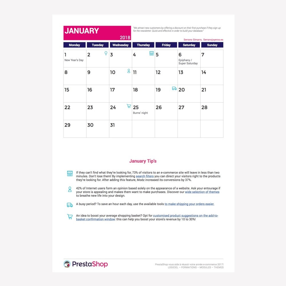 other - Calendario e-Commerce - Calendario e-Commerce 2018 Gran Bretaña - 2
