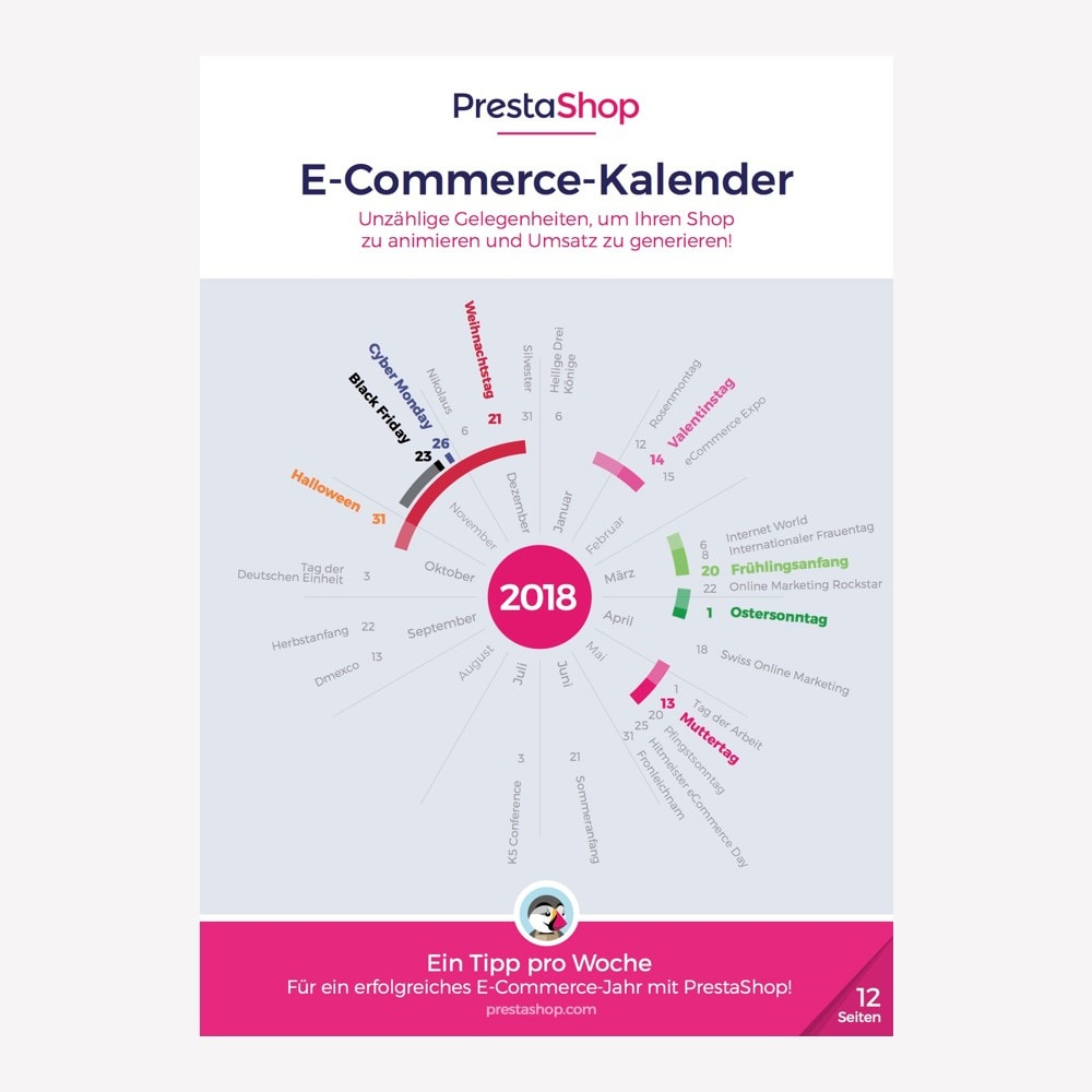 other - Kalendarz e-commerce - Germany 2018 eCommerce Calendar - 1