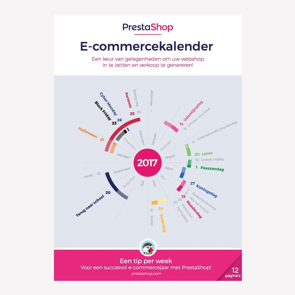 other - Calendrier e-Commerce - Calendrier e-commerce 2018 Pays-Bas - 1