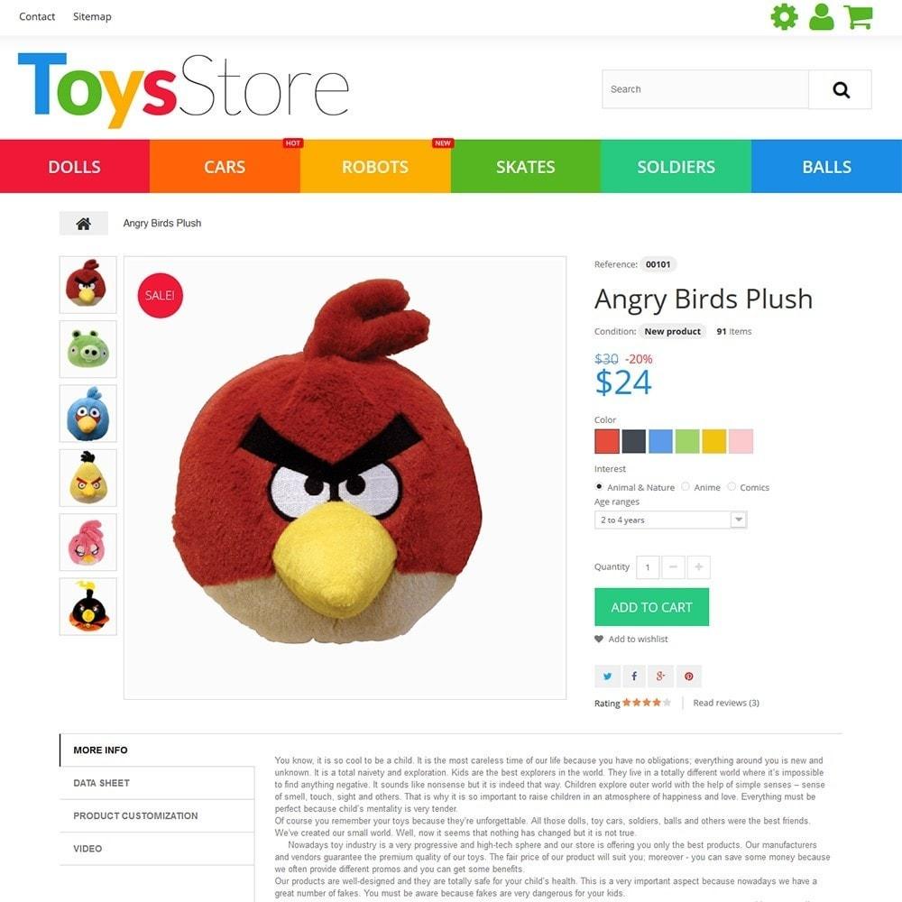 theme - Bambini & Giocattoli - Toys Store - per Un Sito di Negozio di Giocattoli - 5