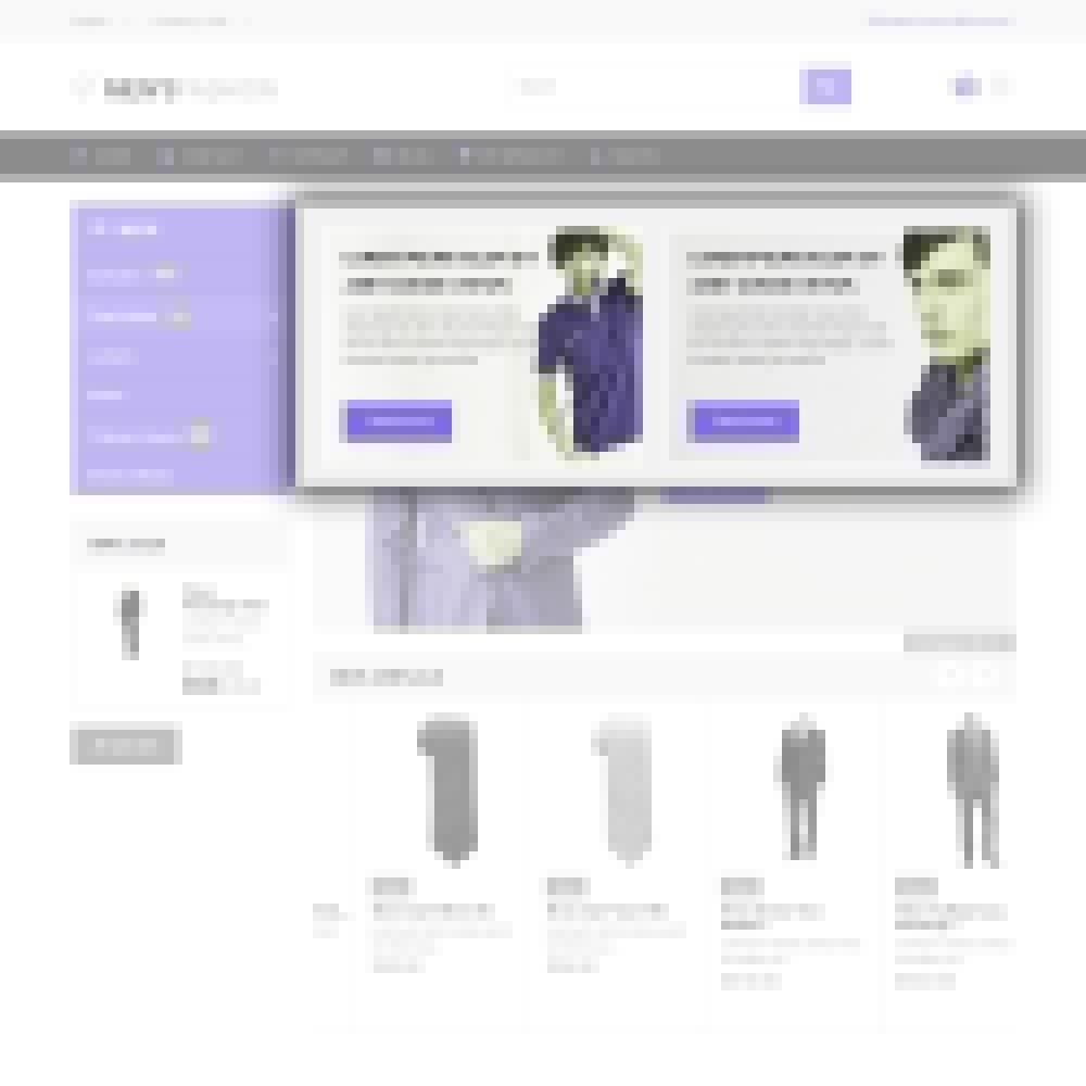 theme - Moda & Calçados - Men's Fashion - Fashion Store Template - 5