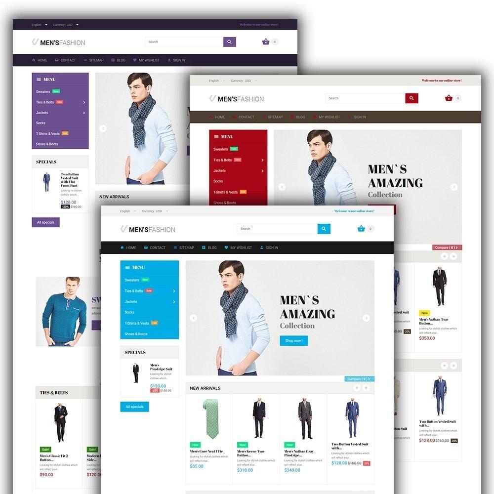 theme - Mode & Chaussures - Men's Fashion - Modèle de magasin de mode - 2